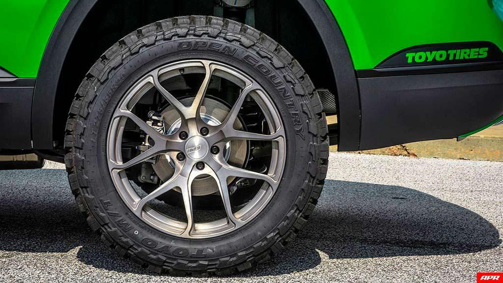 20-дюймовые колеса Volkswagen Atlas. Тюнинг от APR
