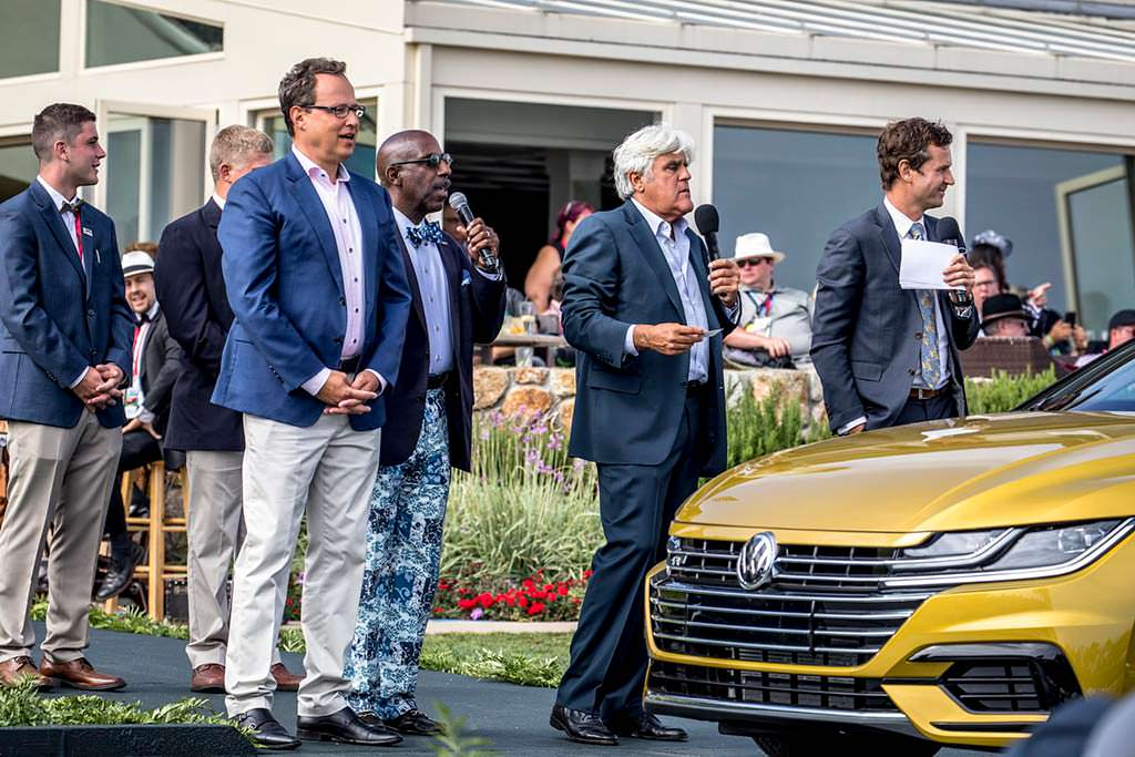 Volkswagen Arteon R-Line SEL Premium и Джей Лено