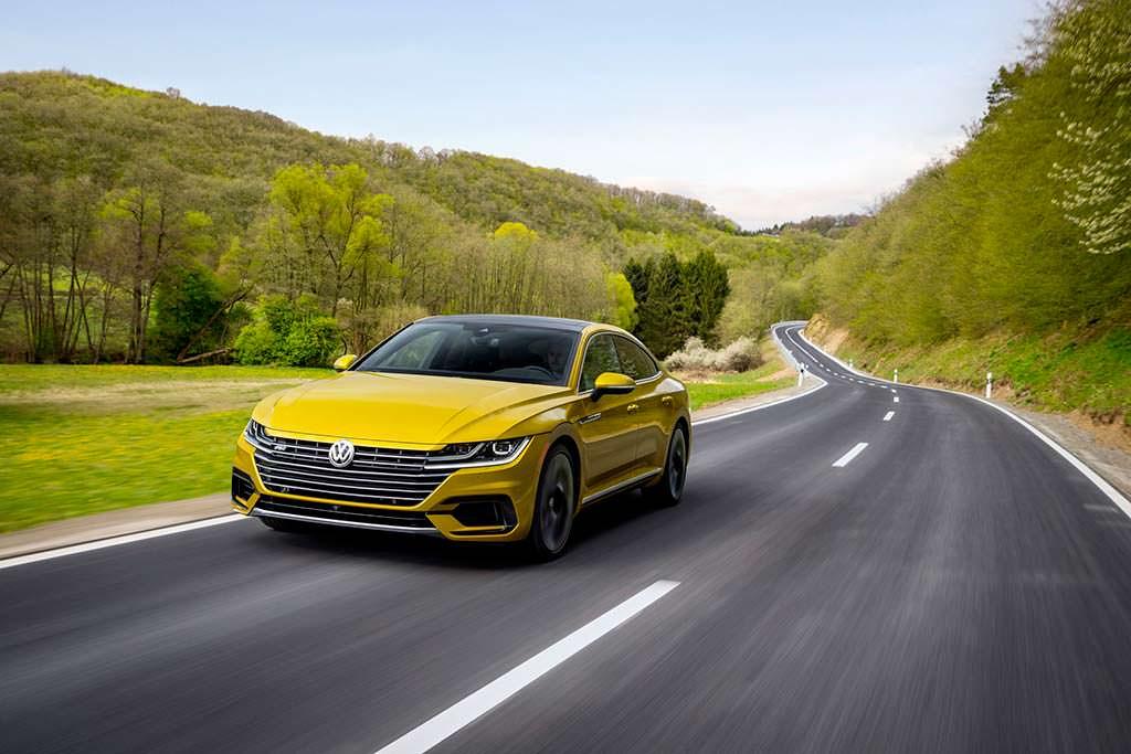 Volkswagen Arteon R-Line SEL Premium для США