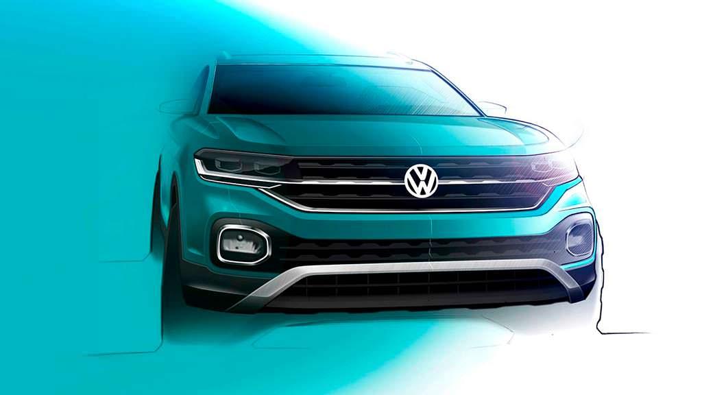 Скетчи Volkswagen T-Cross