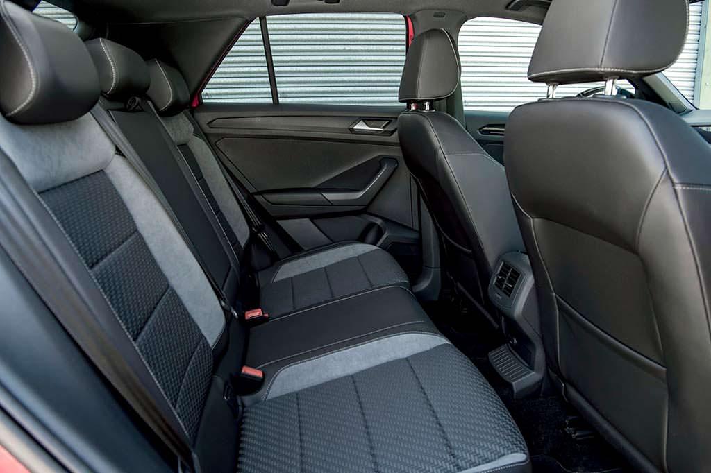 Задний диван Volkswagen T-Roc