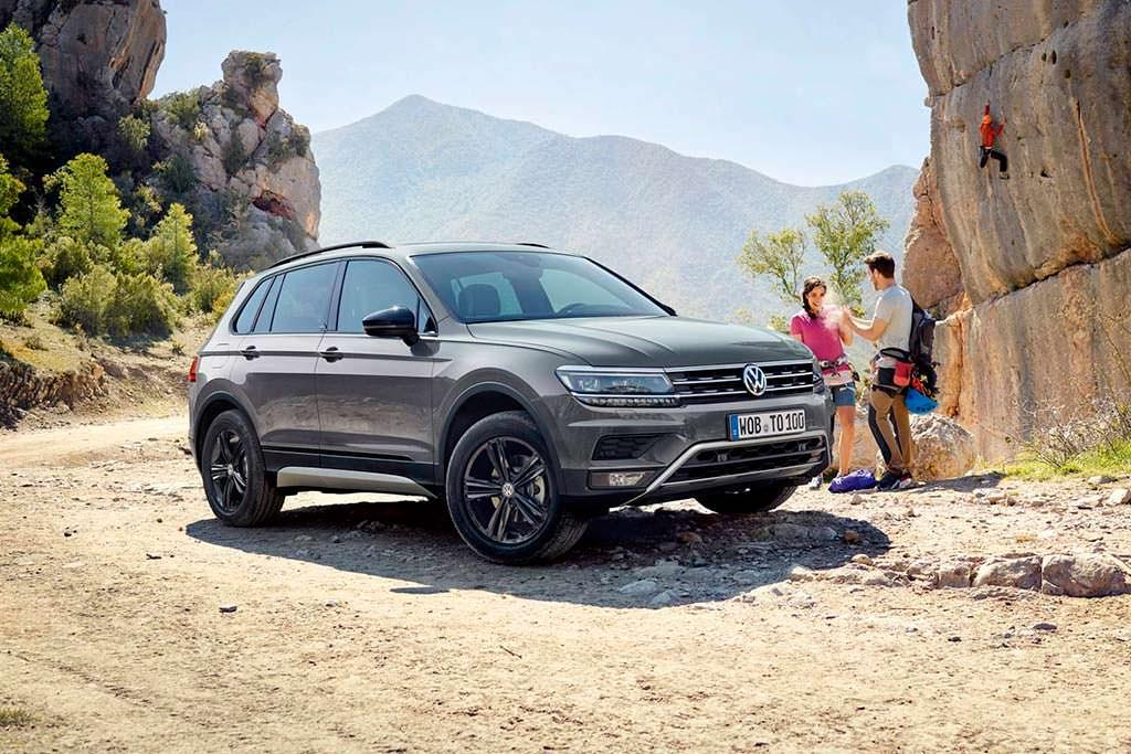 Volkswagen Tiguan Offroad для бездорожья