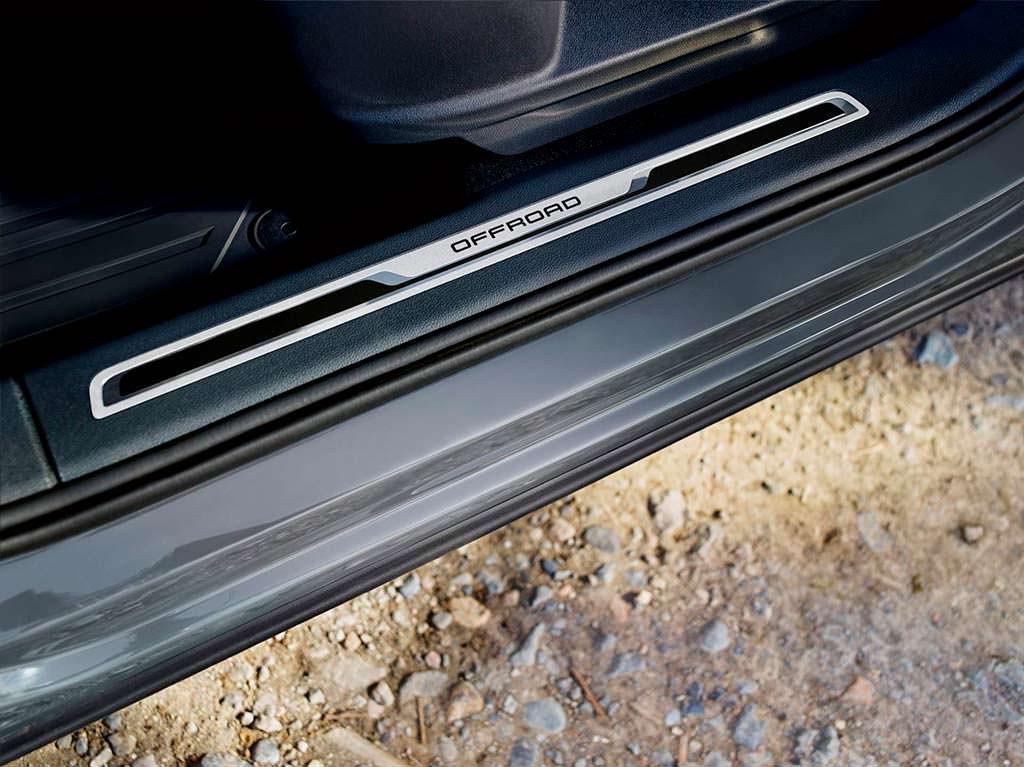 Дверные пороги Volkswagen Tiguan Offroad