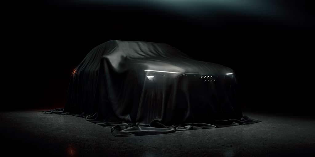 Тизер Audi E-Tron