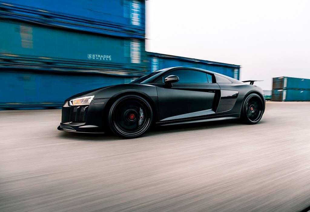 Тюнинг Audi R8 V10 Plus от Strasse Wheels
