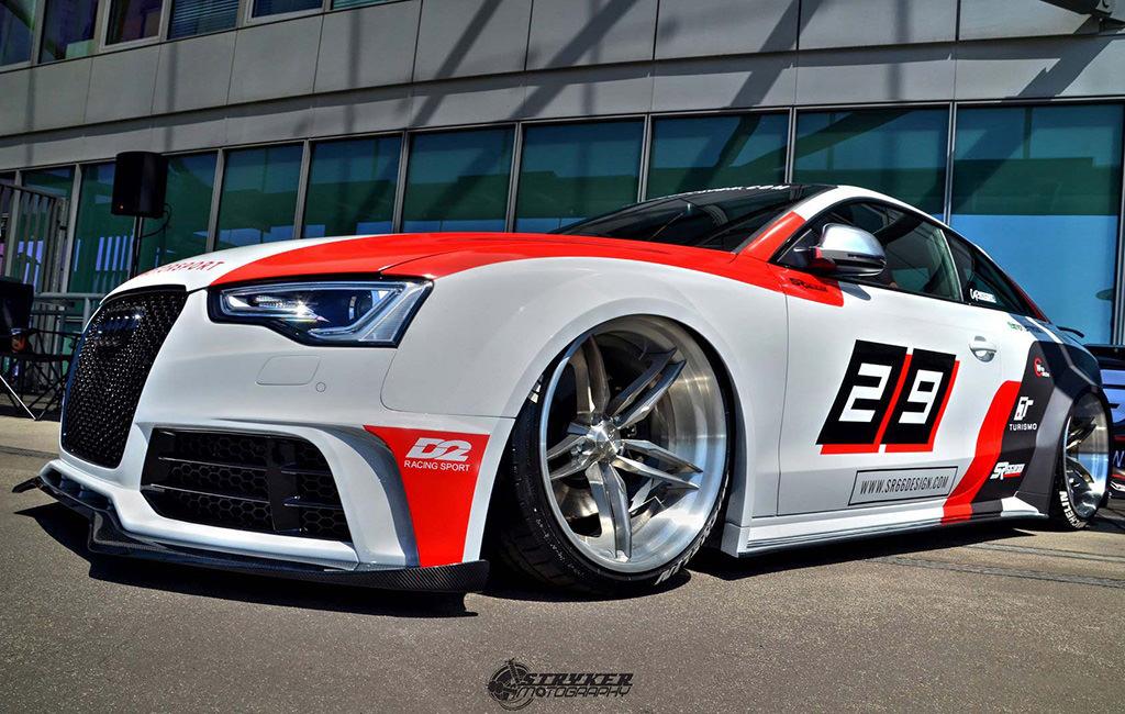 Тюнинг Audi S5 Coupe от SR66 Design