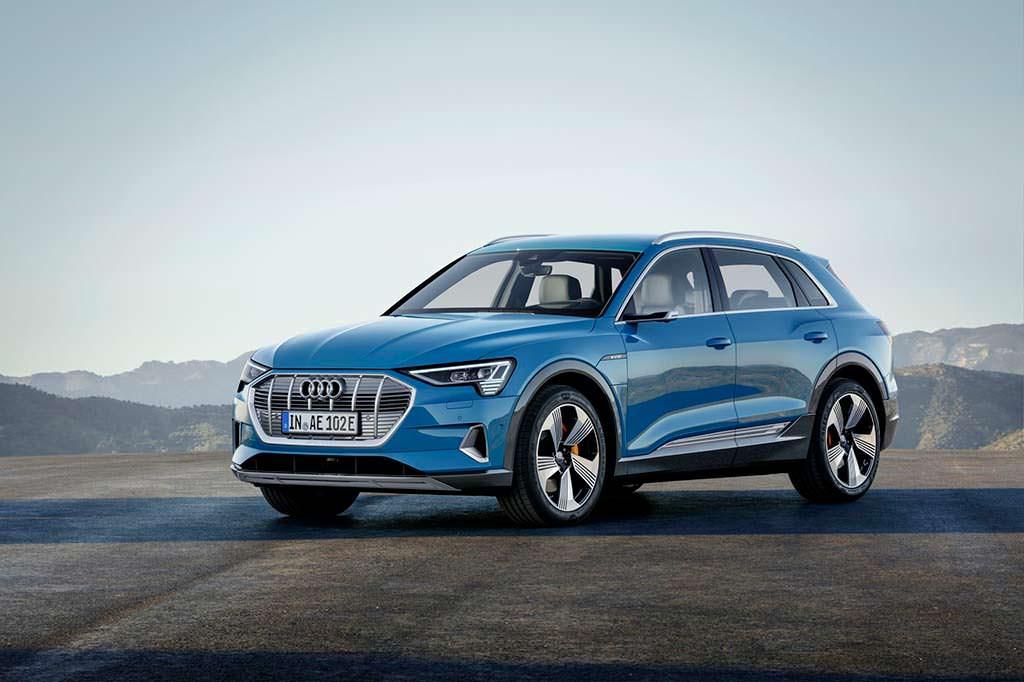 Audi e-tron - ответ Tesla Model X