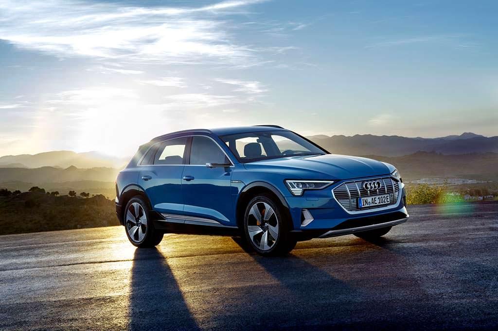 Серийный Audi e-tron