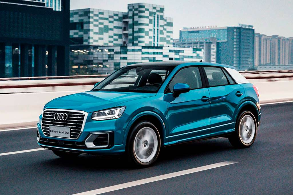 Длиннобазная Audi Q2 L для Китая