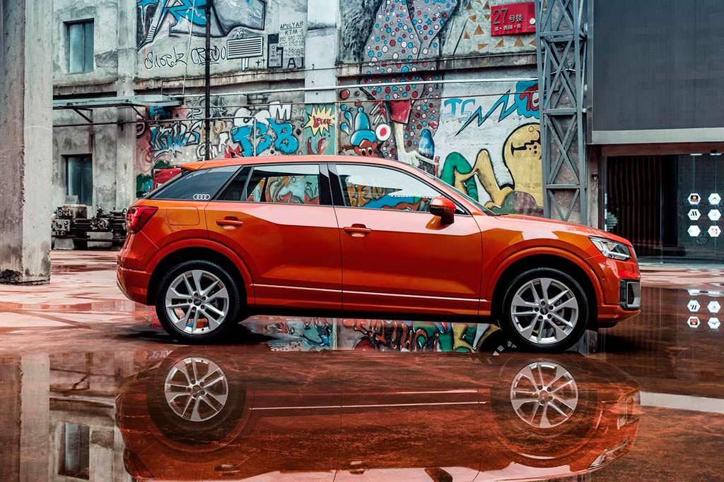 Audi Q2 L с длинной колесной базой для Китая