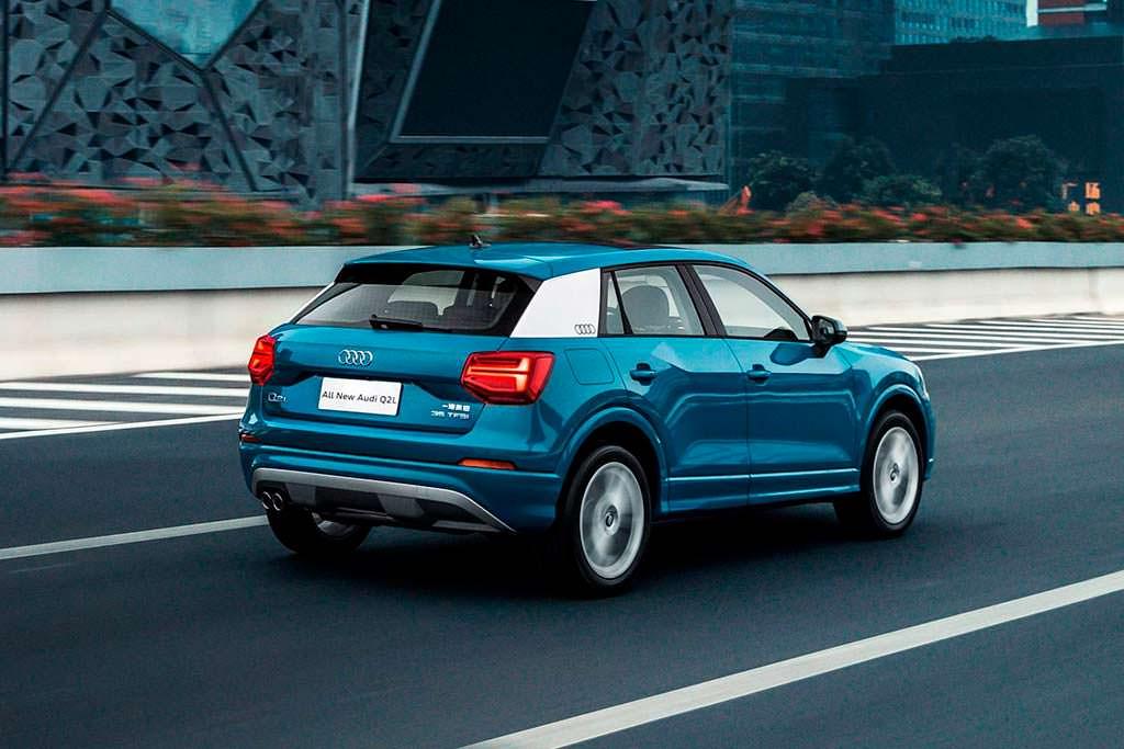 Компактный кроссовер Audi Q2 L для китайского рынка