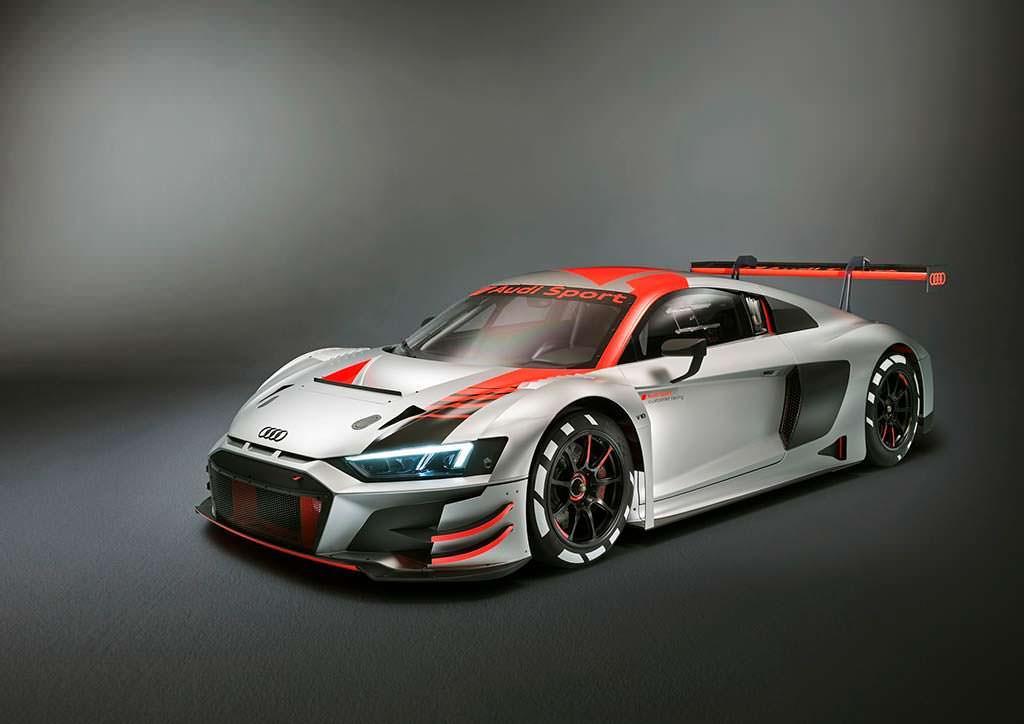Обновленная Audi R8 LMS GT3 2018
