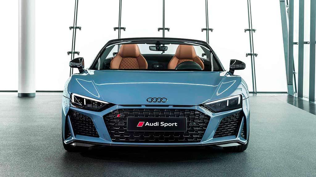 Рестайлинг Audi R8 Spyder 2019