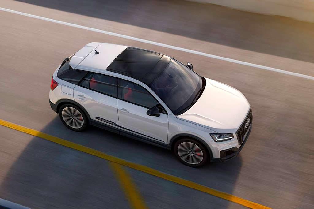 Audi SQ2. Максимальная скорость 250 км/ч