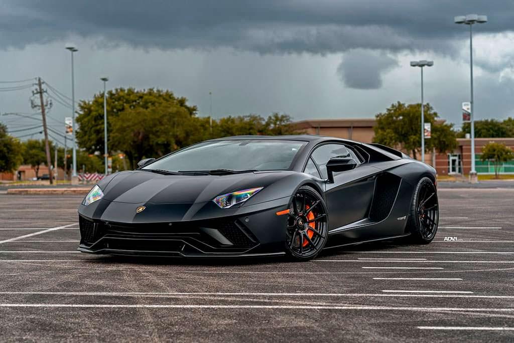 Суперкар Lamborghini Aventador S от EVS Motors
