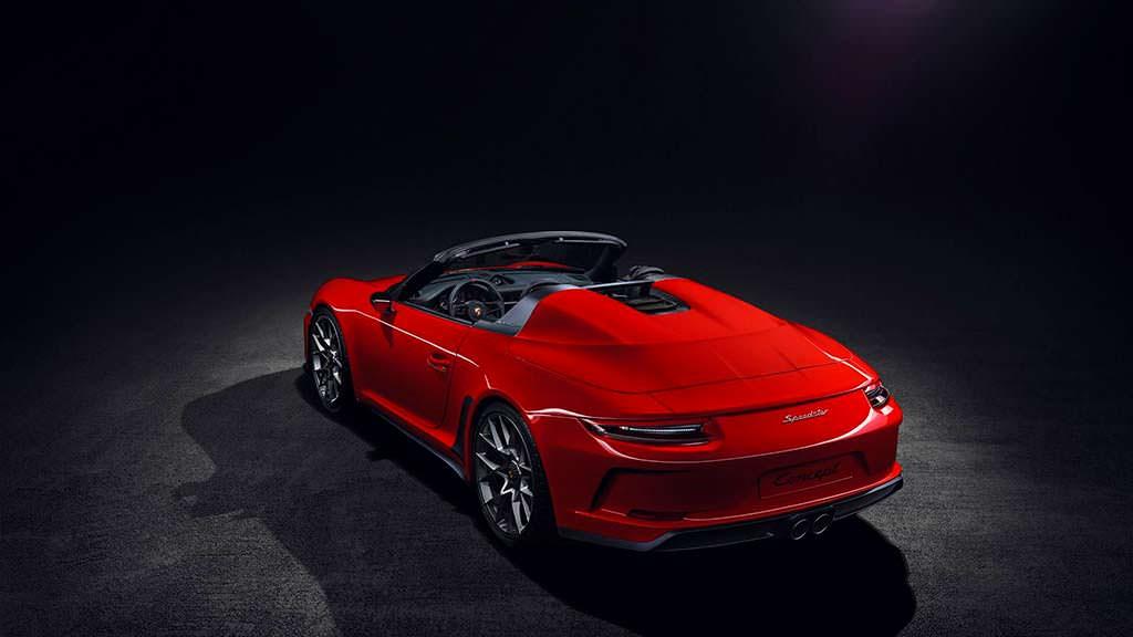Ретро-спидстер Porsche 911 Speedster 2018
