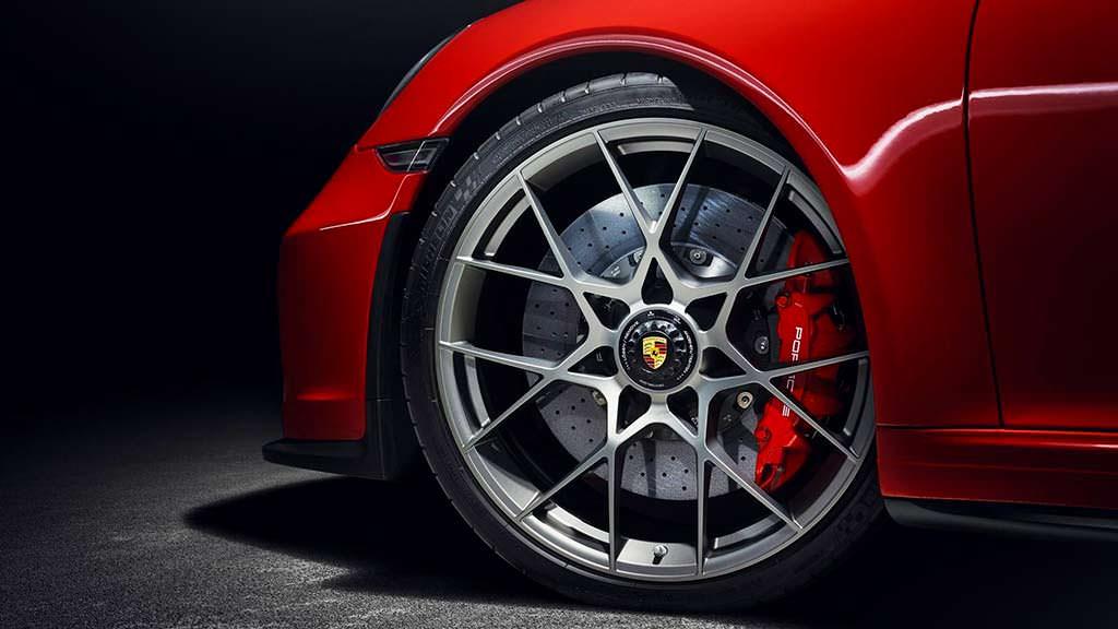 21-дюймовые колеса с центральной гайкой Porsche 911 Speedster 2018