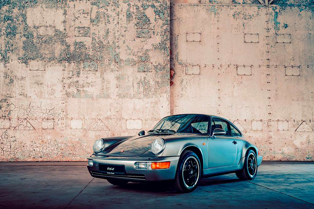 Классическая Porsche 964