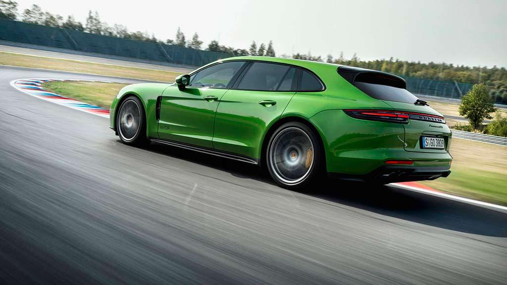 Porsche Panamera Sport Turismo GTS. Максимальная скорость 289 км/ч