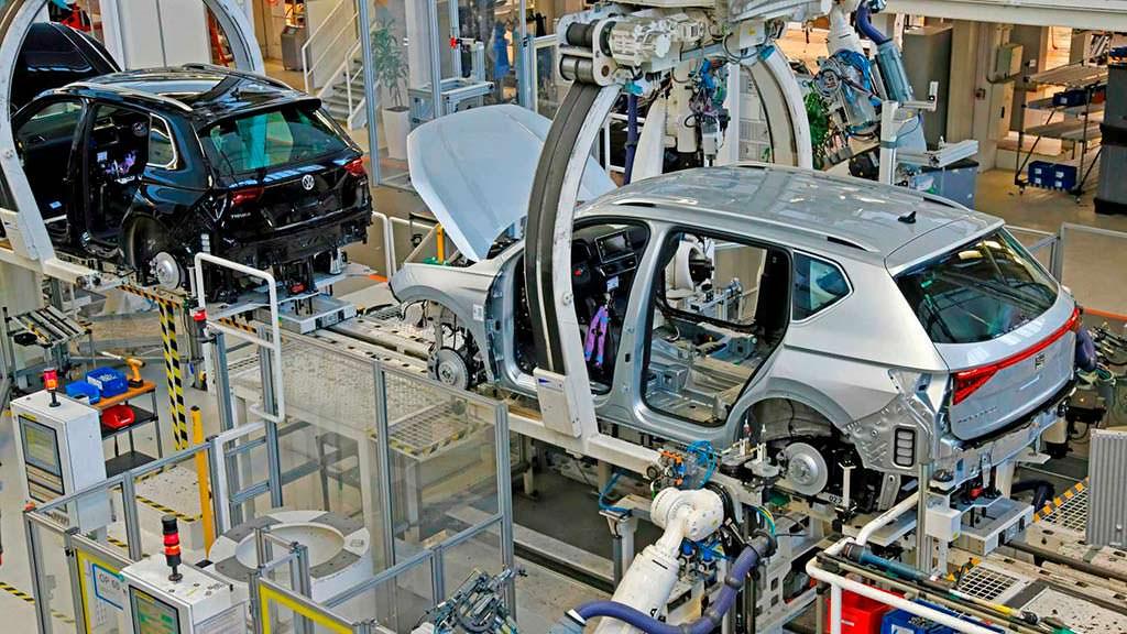 Производство SEAT Tarraco на заводе VW в Германии