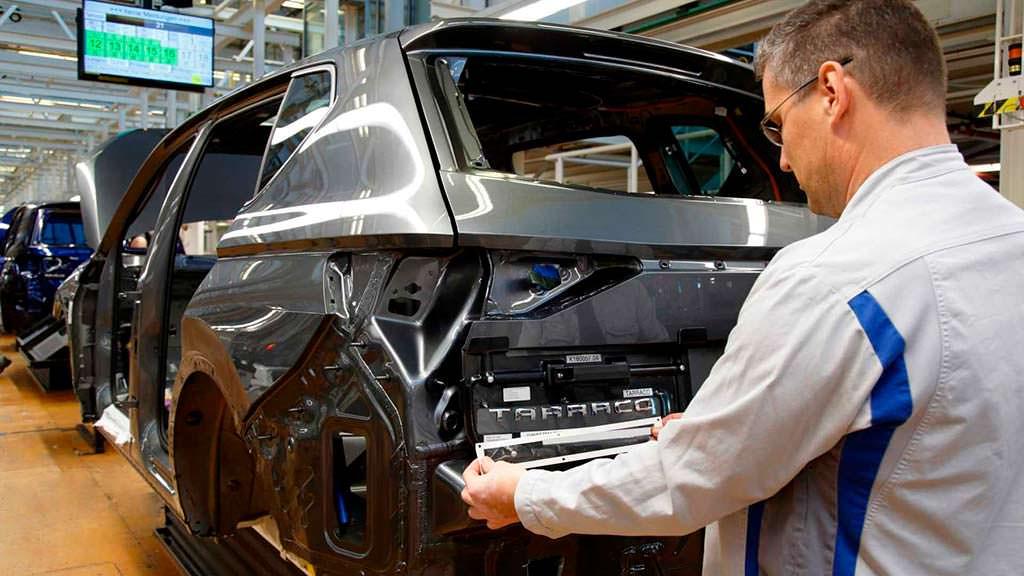 Сборка SEAT Tarraco на заводе VW вместе с Tiguan и Touran