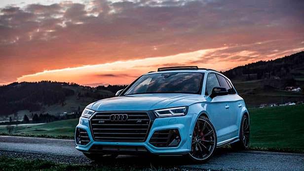 Спортивная Audi SQ5. Тюнинг от ABT Sportsline для SEMA 2018