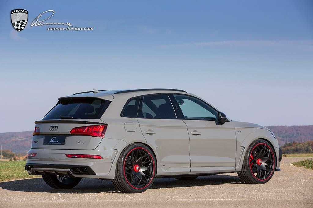 Спортивный кроссовер Audi SQ5. Тюнинг от Lumma Design