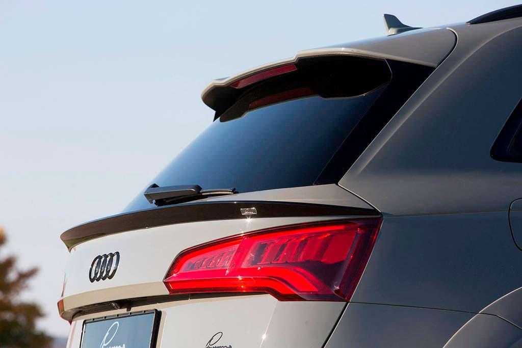 Спойлер на задней двери Audi SQ5. Тюнинг от Lumma Design