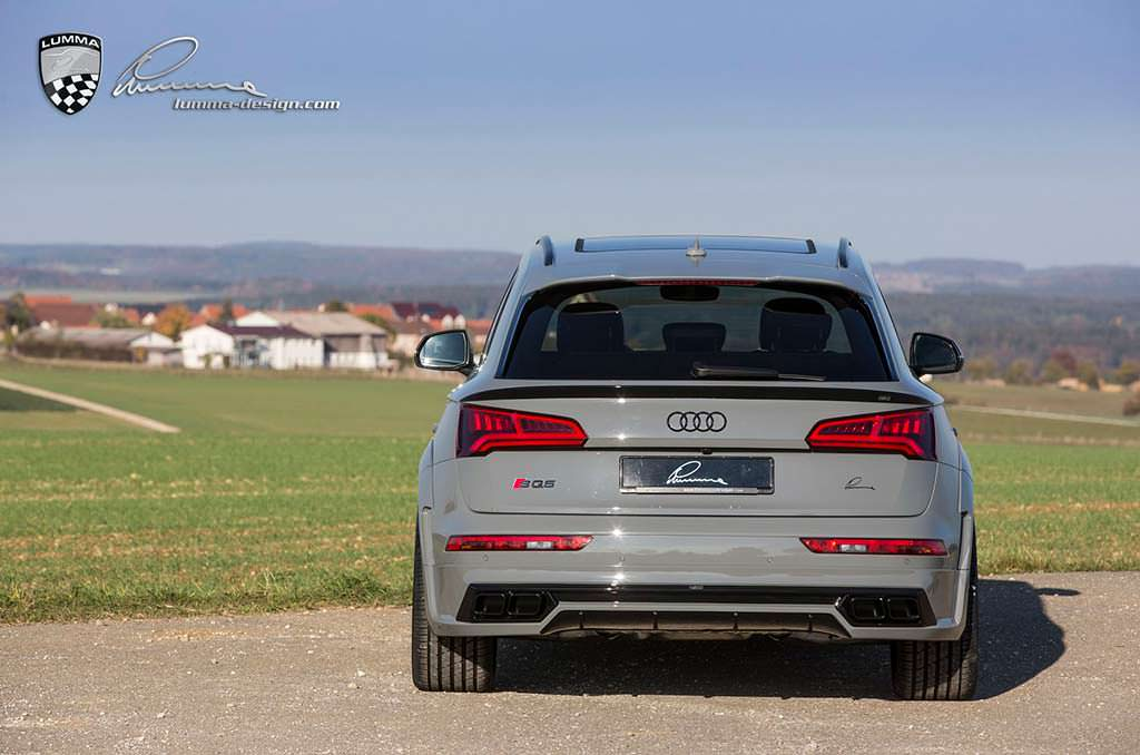 Новая Audi SQ5. Тюнинг от Lumma Design
