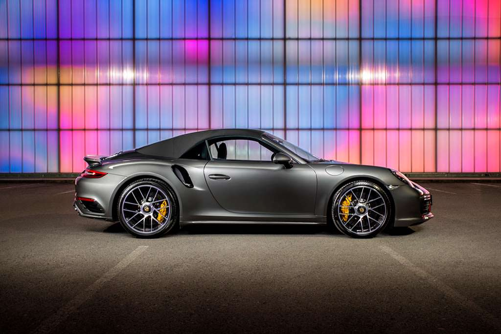 Porsche 911 Turbo S. Тюнинг от O.CT