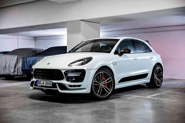 Тюнинг Porsche Macan Sport / Sport+ от TechArt