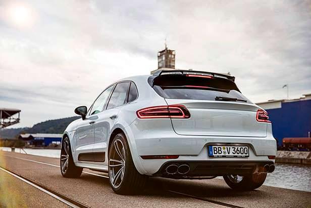Тюнингованный Porsche Macan Sport от TechArt