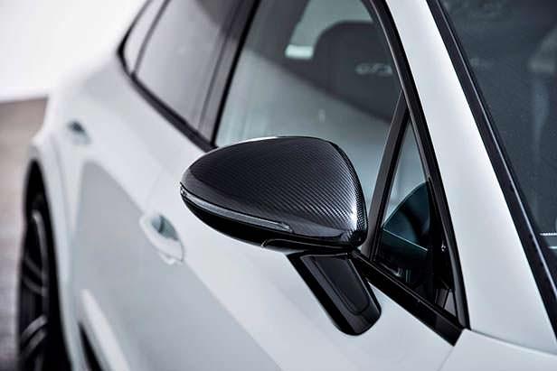 Карбоновые зеркала Porsche Macan. Тюнинг TechArt