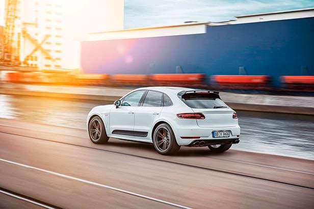 Новый Porsche Macan. Тюнинг TechArt