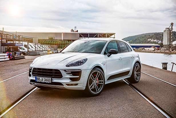 Новый тюнинг Porsche Macan Sport от TechArt