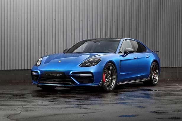 Новая Porsche Panamera. Тюнинг от TopCar