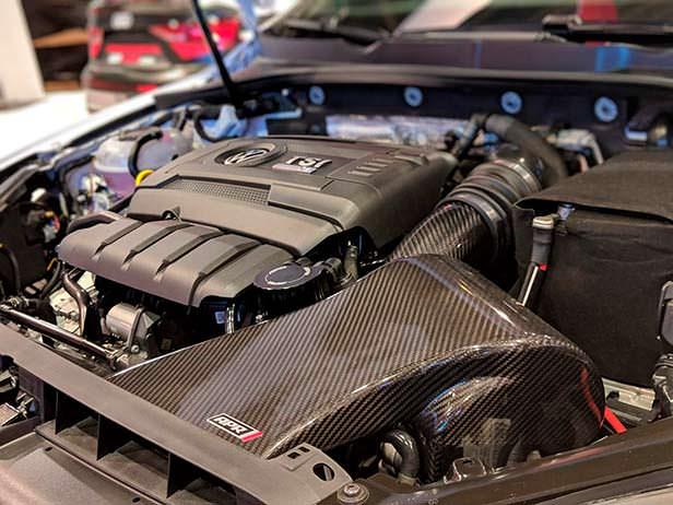Двигатель 2.0 TSI. Мощность 536 л.с. Тюнинг APR