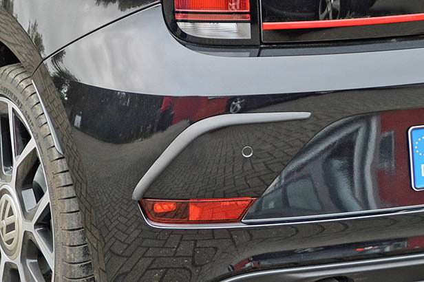 Задний бампер Volkswagen Up! GTI. Тюнинг Ingo Noak