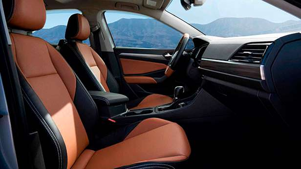 Черно-коричневый салон Volkswagen Air Design USA Jetta SEL