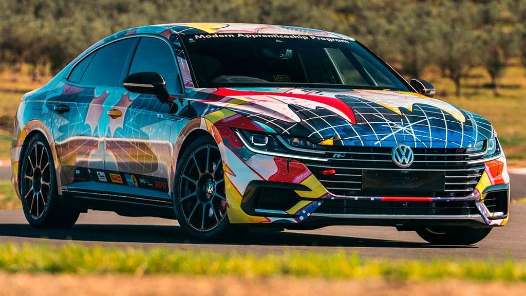 Volkswagen ART3on - самый мощный и быстрый Arteon