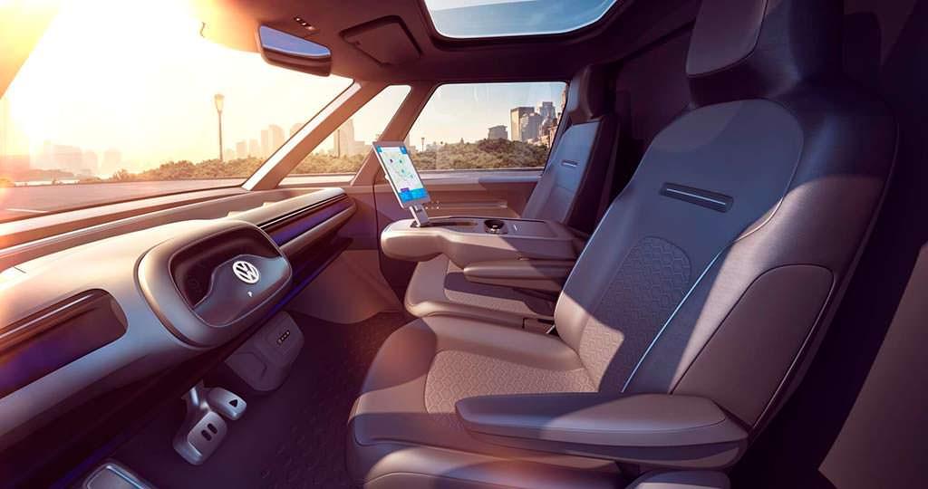 Фото внутри Volkswagen Buzz Cargo Concept