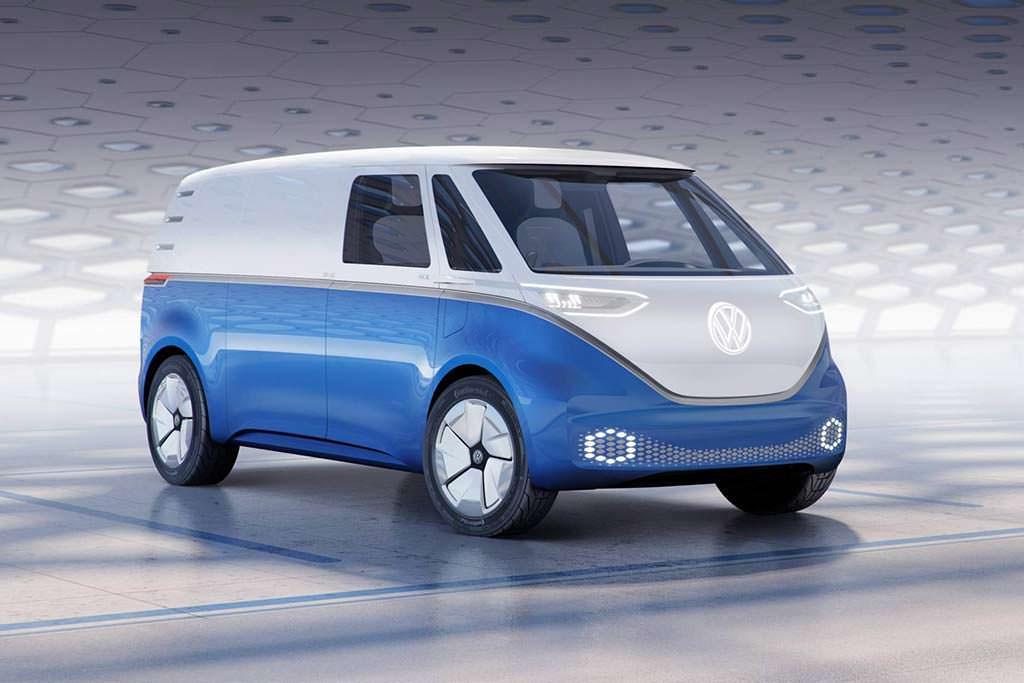 Электро-фургон Volkswagen Buzz Cargo Concept