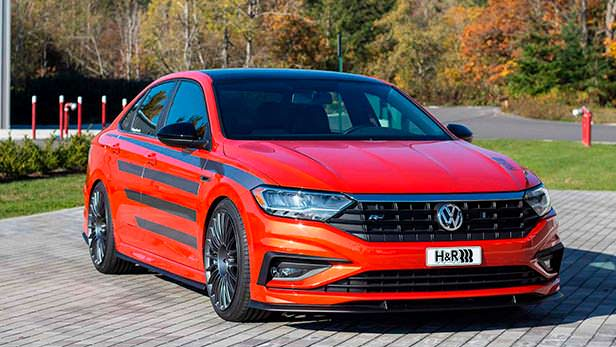 Новый Volkswagen H & R Special Springs Jetta R-Line