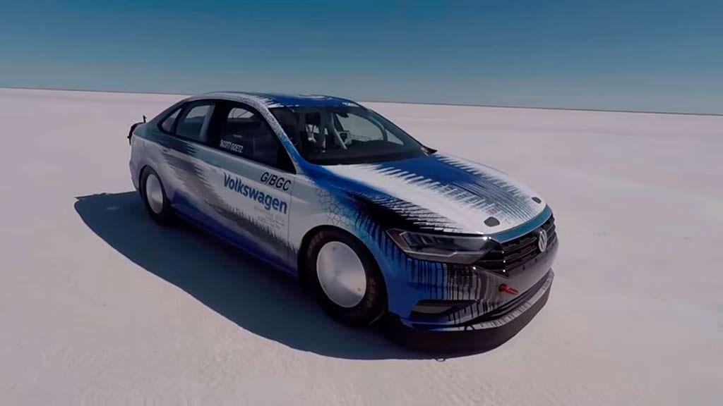 Самая быстрая Volkswagen Jetta. Скорость 339,572 км/ч