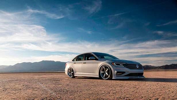 Седан Volkswagen Jetta S. Тюнинг от Джейми Орра