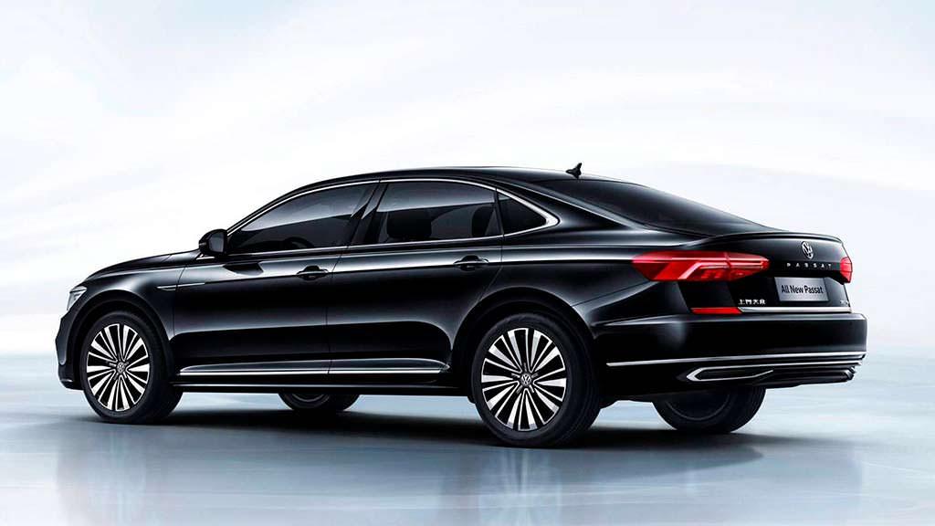 Новое поколение Volkswagen Passat для Китая