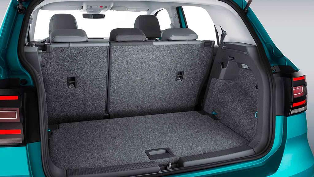 Багажник Volkswagen T-Cross до 1 281 литра