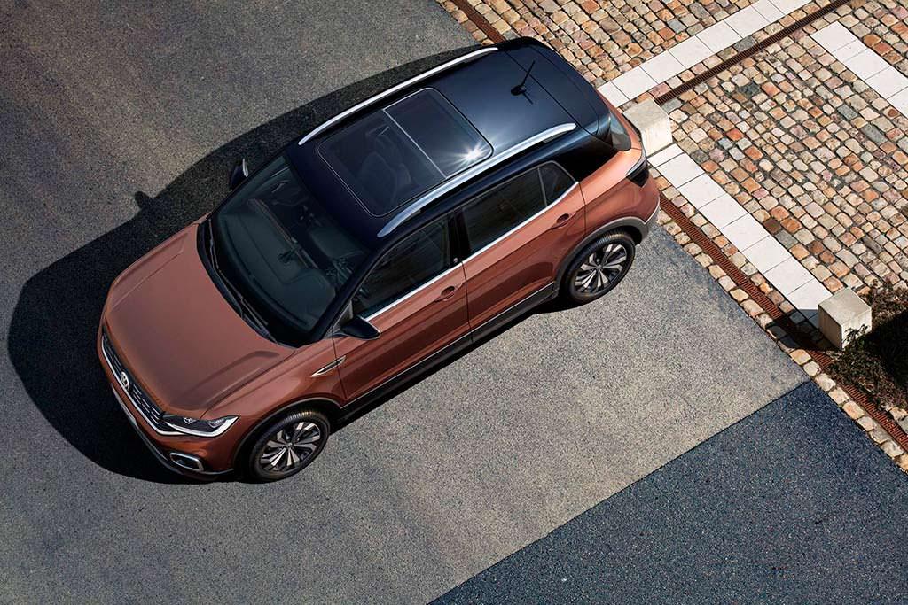 Стеклянная крыша Volkswagen T-Cross для Латинской Америки