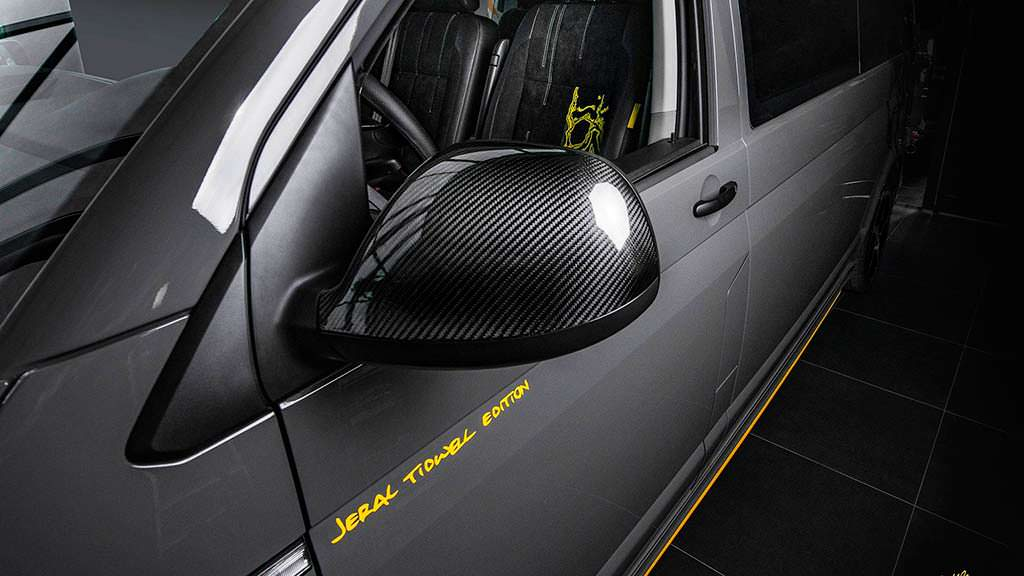Карбоновые зеркала Volkswagen T6 Jeral Tidwell Limited Edition