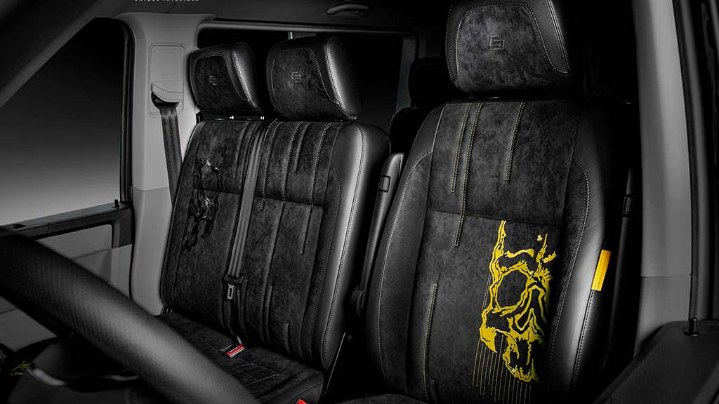 Передние сиденья от Carlex Design
